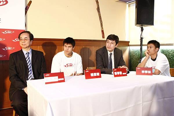 台啤-劉華林、楊敬敏;裕隆-張學雷、李學林
