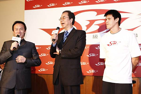 台啤-總教練 劉華林、楊敬敏