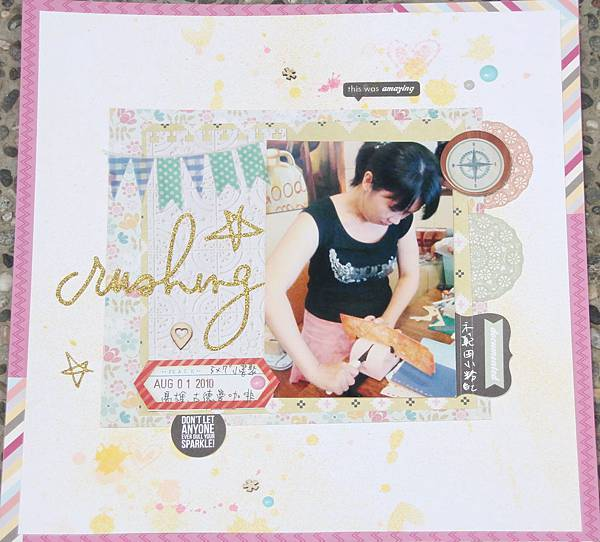 Scrapbooking challenge May 2014