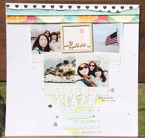 Scrapbooking Gallery 2014 No.42 (2014年11月PS聚上課做 Kate Lai的教案作品之三).JPG