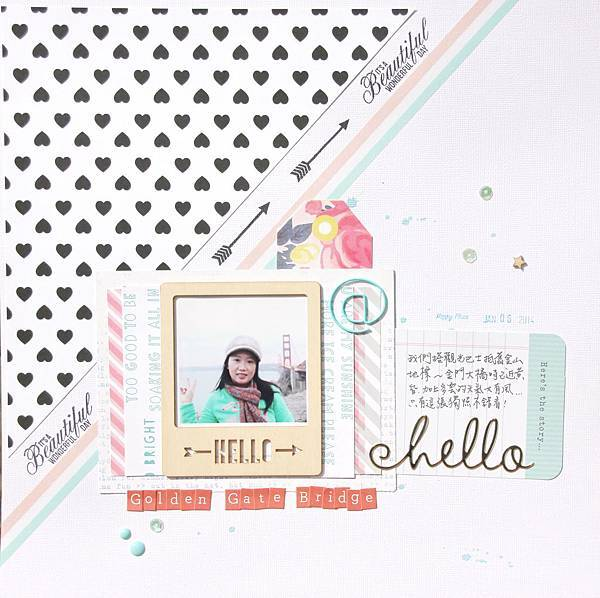 Scrapbooking Gallery 2014 No.43 (2014年11月PS聚上課做 Kate Lai的教案作品之四).JPG