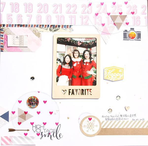 Scrapbooking Gallery 2014 No.44 (2014年11月PS聚上課做 Kate Lai的教案作品之五).JPG