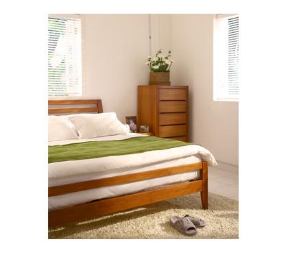 詩肯柚木家具臥室
