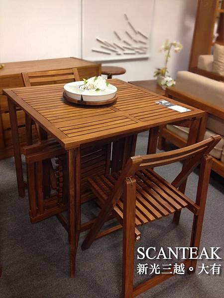 20023+20081折疊餐桌椅組