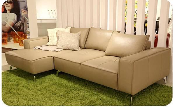 C17034-L型皮沙發