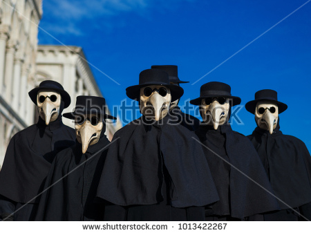 stock-photo-plague-doctor-masks-group-traditional-costume-invented-in-the-th-century-and-historical-1013422267.jpg