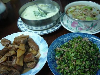 奶奶燒的菜