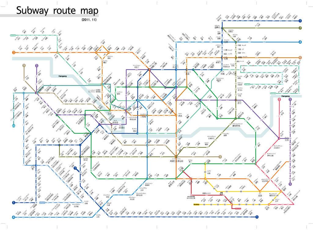 首爾地鐵圖