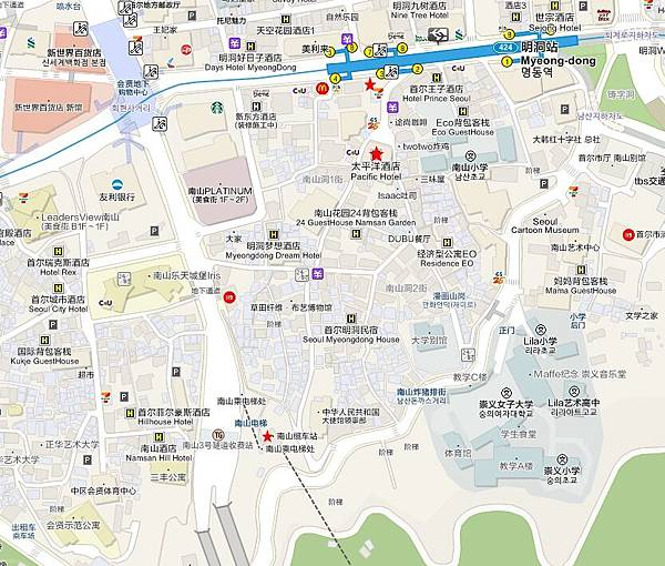 cable car route chinese