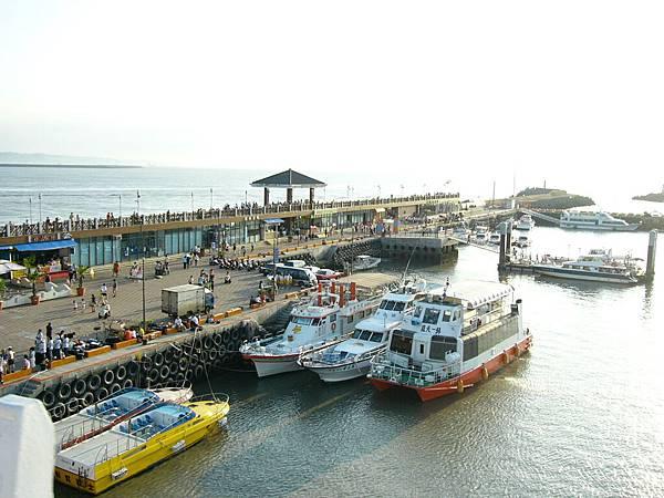 漁人碼頭的遊艇碼頭