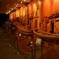漁船的模型