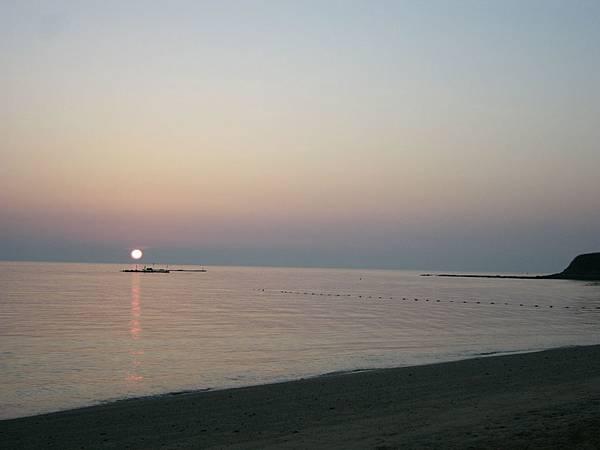 吉貝的日落
