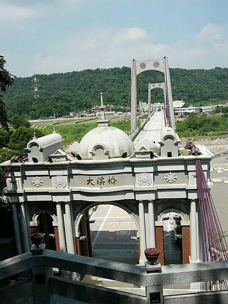 重新整理後的大溪橋