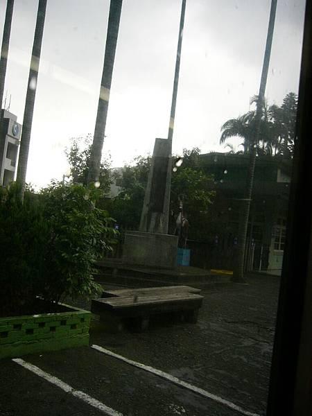 在細雨紛飛下..要和內灣說再見了!