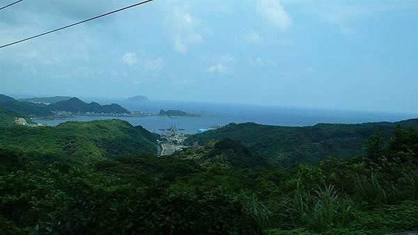 從九份遠眺台灣北海岸