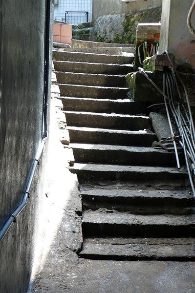 九份老街什麼不多 階梯最多!