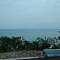 越過海岸山脈以後看見的太平洋