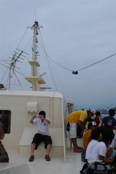 綠島之星的桅桿