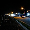 綠島街上的夜景