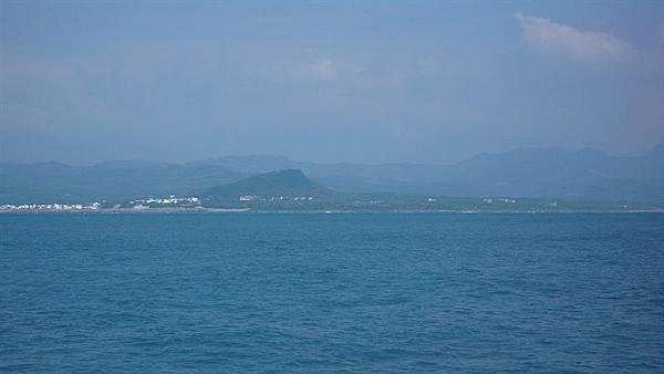 看得見台灣了!