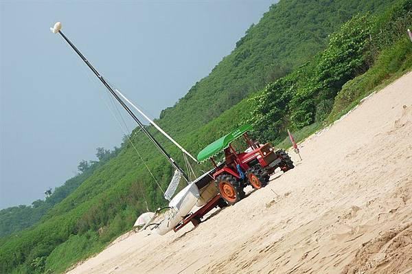 帆船&拖車