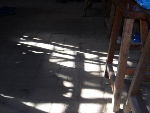 光線in bedroom