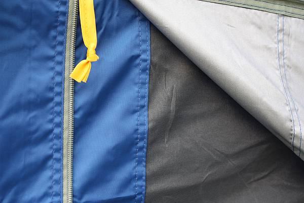一體成型紗網銀膠防風布