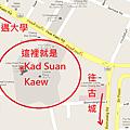 Kad Suan Kaew 地圖