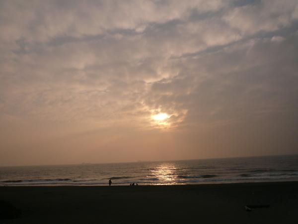 旗津的夕陽