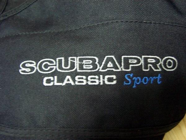 採用SCUBAPRO等級的配備