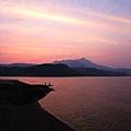 觀音山夕陽