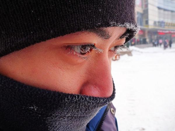 眼睫毛結冰 part 2