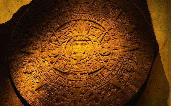 Aztec calendar stone from Mexico City, Mexico .jpg