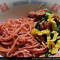 紅麴香腸炒麵-手工麵線料理 (19)