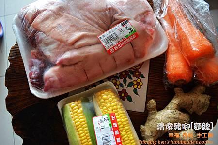 清燉豬腳麵線[手工麵線料理]
