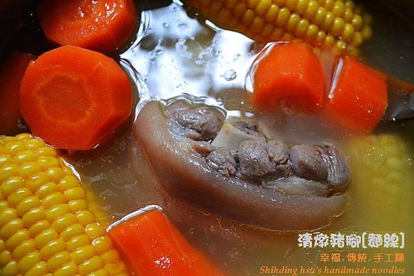 清燉豬腳麵線[手工麵線料理] (3)