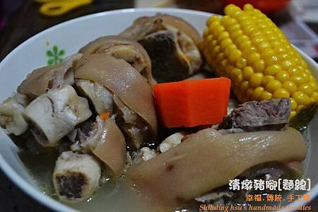 清燉豬腳麵線[手工麵線料理] (8)