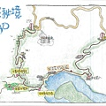 石碇千島湖-八掛茶園手繪地圖[新北市石碇永安社區]