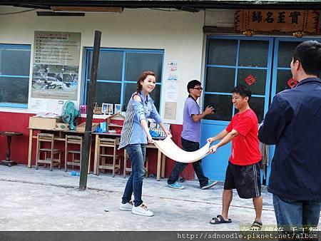 民視旅遊-傳統麵線體驗DSCF1135