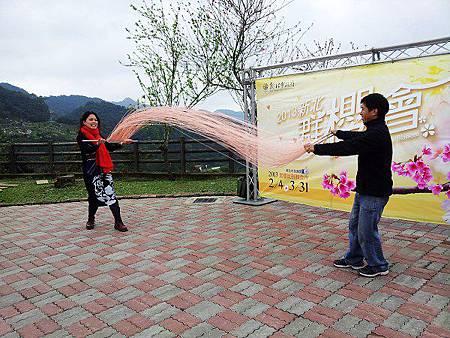 2013新北石碇櫻花季-櫻花麵線