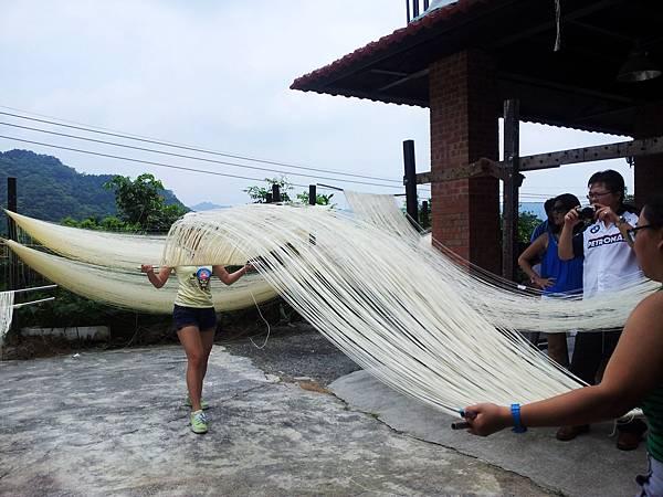 傳統手工麵線-體驗DIY  新北市石碇旅遊,一日遊