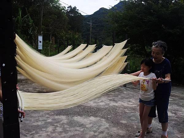 傳統手工麵線 體驗,DIY 7-21