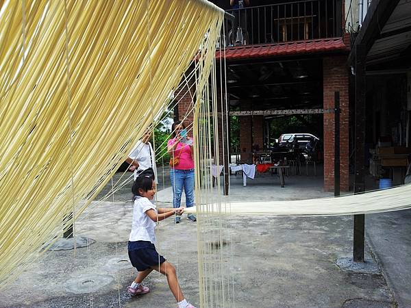 傳統手工麵線-體驗石碇小旅行