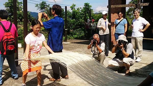 taiwan 傳統手工麵線 旅遊體驗