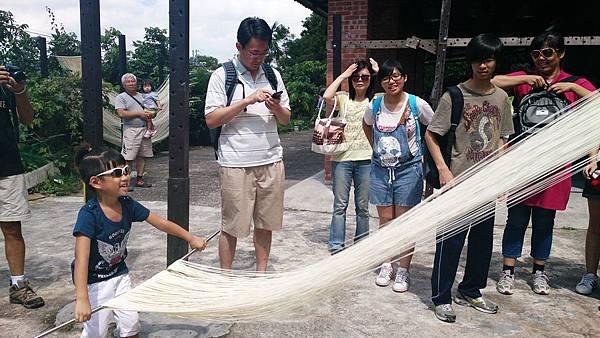傳統手工麵線 旅遊體驗 新北市石碇旅遊