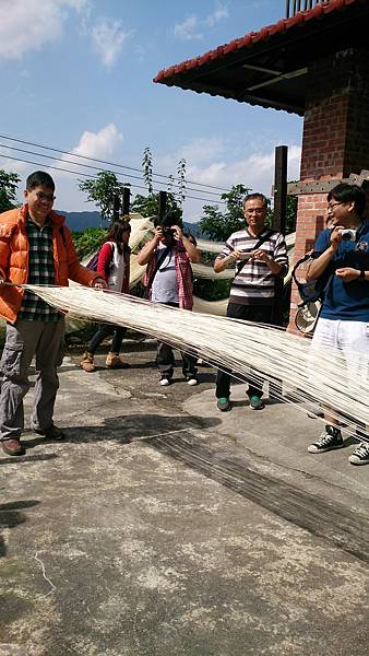 傳統麵線DIY/新北市石碇旅遊