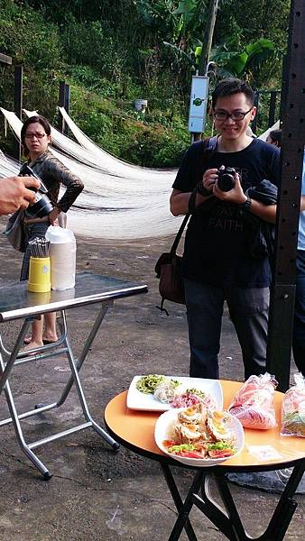 甩手工麵線/台北石碇DIY旅遊
