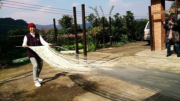 傳統麵線-體驗DIY 台北旅遊