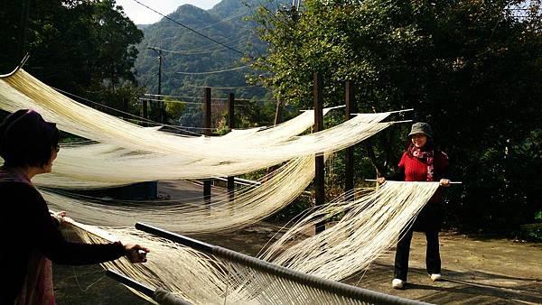 傳統麵線-體驗DIY 台北旅遊好去處