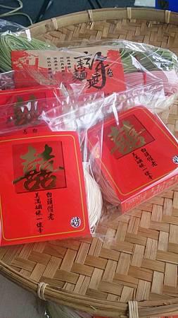 2014台北誠鄉禮讚 台北好物節/手工麵線攤位